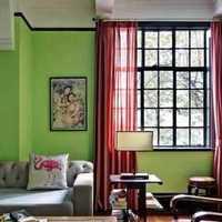 客厅窗帘壁纸客厅大户型装修效果图