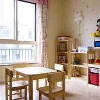 现代别墅儿童房灰色系装修效果图