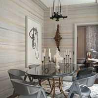 现代浓重深情别墅家庭餐厅装修效果图