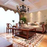 台湾家居简约沙发60平米装修效果图