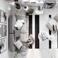 茶几客厅吊灯客厅客厅家具装修效果图