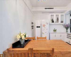 現代簡約風格公寓舒適白色閣樓裝潢效果圖