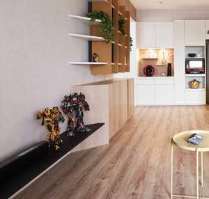 70-90平米现代简约公寓客厅中性色