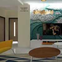 现代张扬小资式别墅起居室装修效果图