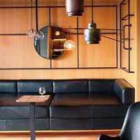 美式客厅客厅隔断客厅吊灯装修效果图