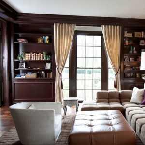 两房一厅美式现代风格卧室装修效果图