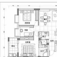 这种一居室如何简装修和打隔断