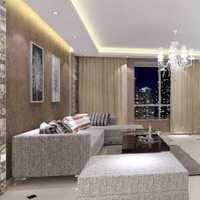 大户型客厅现代风格沙发背景墙效果图