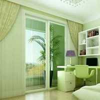 简约大户型卧室窗帘装修效果图