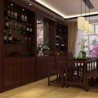 115平古典新成屋餐厅装修效果图