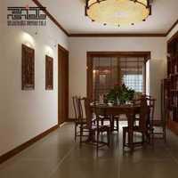 小户型客厅餐厅白色装修效果图