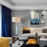 大厅地面拼花客厅吊顶现代装修效果图