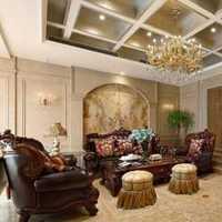 现代美式2层别墅走廊装修效果图