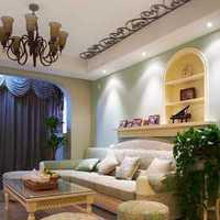 客厅50平米简约一居室装修效果图