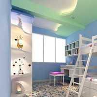灯饰大户型儿童房装修效果图