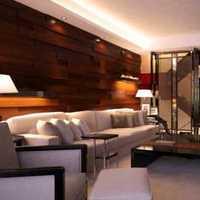 小户型壁纸沙发简约装修效果图