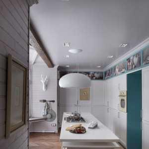 客厅和走廊一体吊顶装修效果图欣赏