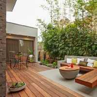 巴洛克庭院人造石方桌装修效果图