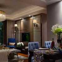餐厅隔断富裕型新房装修效果图