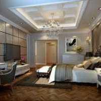 现代二居书房卧室装修效果图