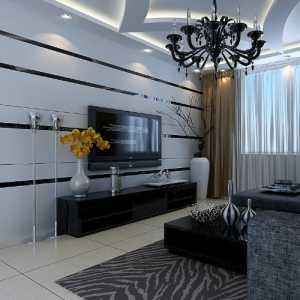 冷色调 时尚温馨客厅