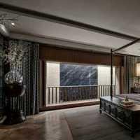 别墅大空间儿童房窗帘装修效果图
