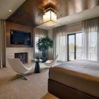 家庭室內裝修窗簾效果圖