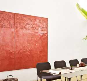 防止居室装饰材料