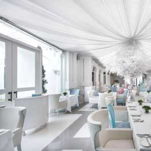 酒店餐厅新古典餐椅效果图