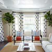 田园风格四居室客厅照片墙效果图
