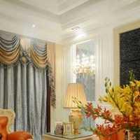 现代复式黑白色客厅装修效果图