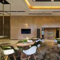 现代简约一室一厅时尚餐桌装修效果图