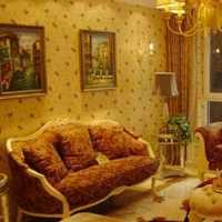 简欧客厅窗帘茶几沙发装修效果图