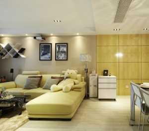 客厅米黄漆