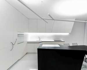 30个现代白色厨房设计