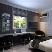 实木板式家具卧室装修效果图