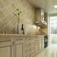 中式家庭厨房装修效果图