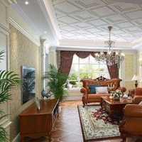 歐式客廳窗簾效果圖 窗簾吊頂裝飾圖片