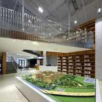 开放式书房布置效果图