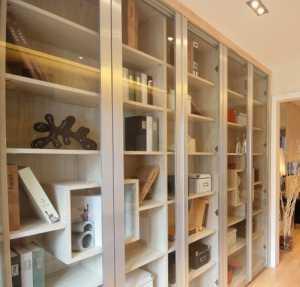 书房简洁二居室富裕型90-120平米时尚70-90平米现代简约三居室公寓15-30万白色