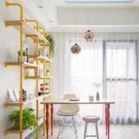 现代家装客厅走廊效果图