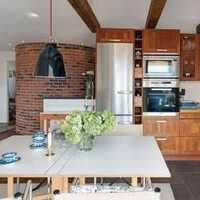 欧式厨房富裕型温馨装修效果图
