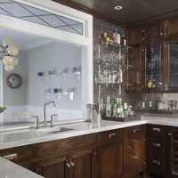 厨房简欧酒柜装修效果图小户型