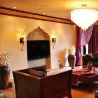 现代客厅现代吊灯沙发装修效果图
