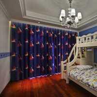 复式欧式儿童房墙面装修效果图