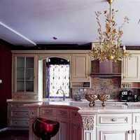 厨房上下水装修效果图