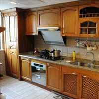 新古典别墅简易式厨房装修效果图