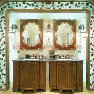 实木浴室柜橡木浴室柜PVC浴室柜有什么区别