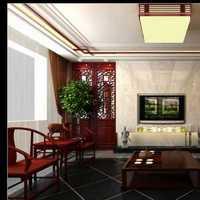 照片墙中式窗帘沙发背景墙装修效果图