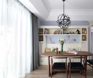 廚房櫥柜臺面上的綠色小盆栽效果圖